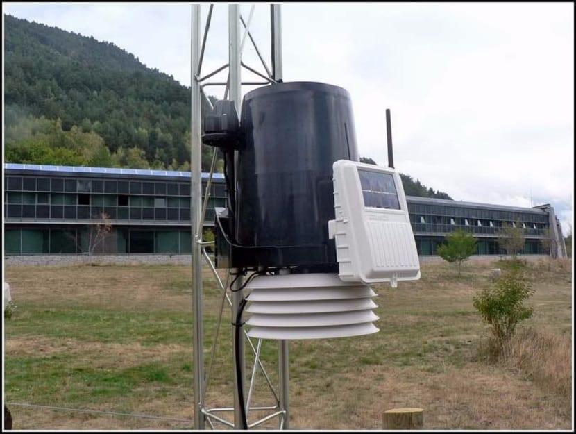 Estaciones meteorológicas