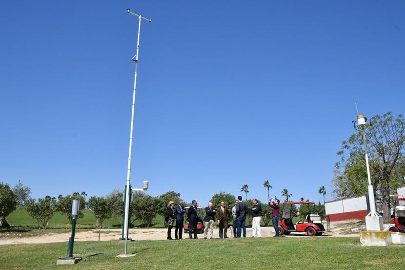 Jardín meteorológico