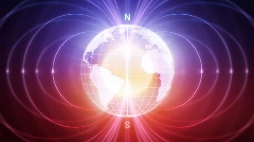 Norte y sur magneticos
