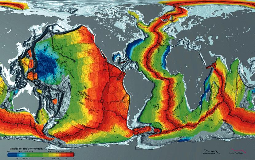 Tectónica y corteza continental