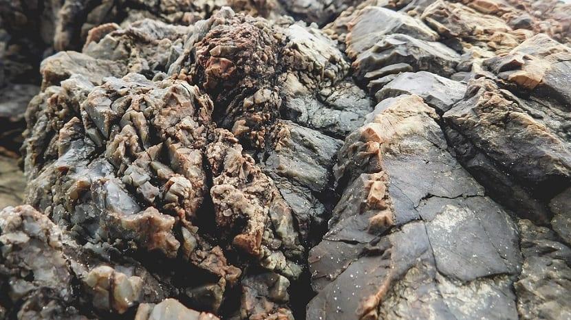 Formacion de rocas