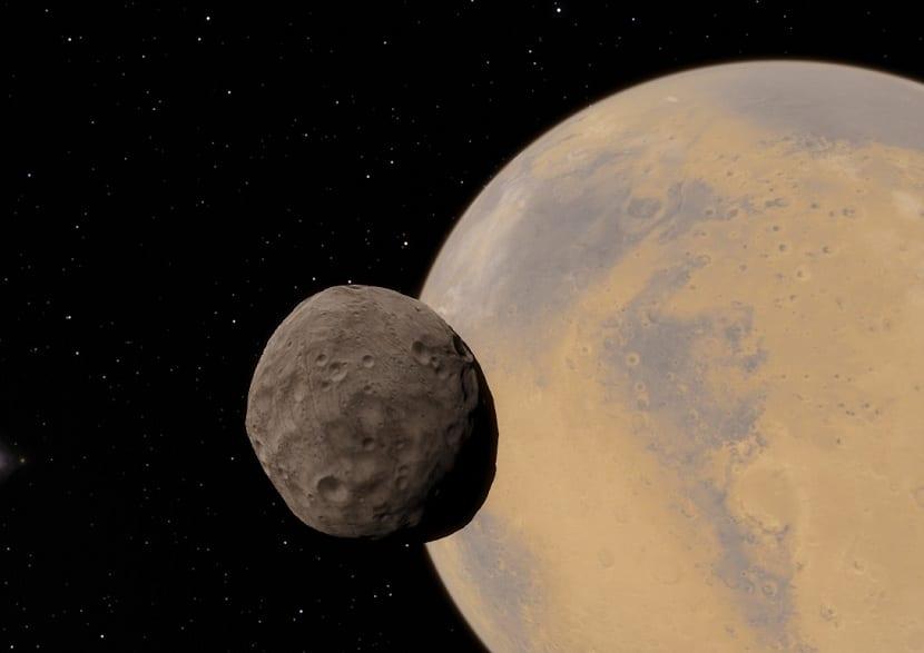Curiosidades de las lunas de Marte