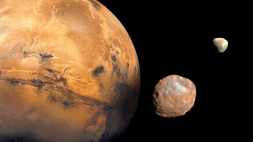 Lunas de Marte