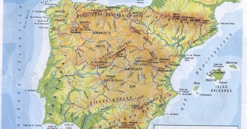 Orografia de España