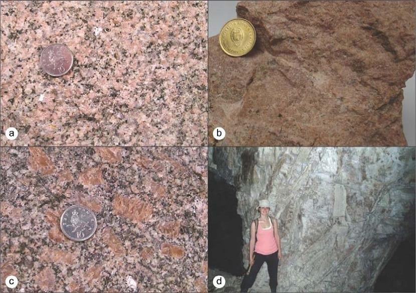 Textura de las rocas plutónicas