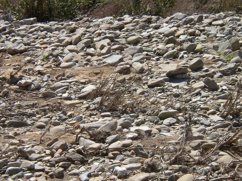 Imbricación de sedimentos
