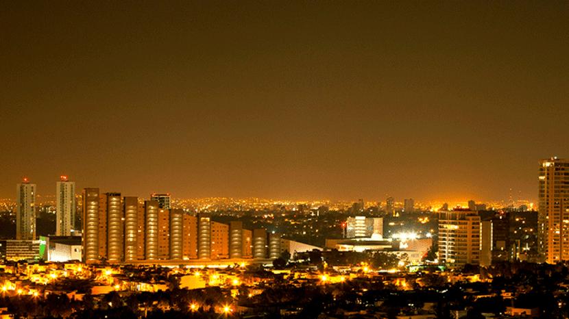Mapas de contaminación lumínica para ver el impacto