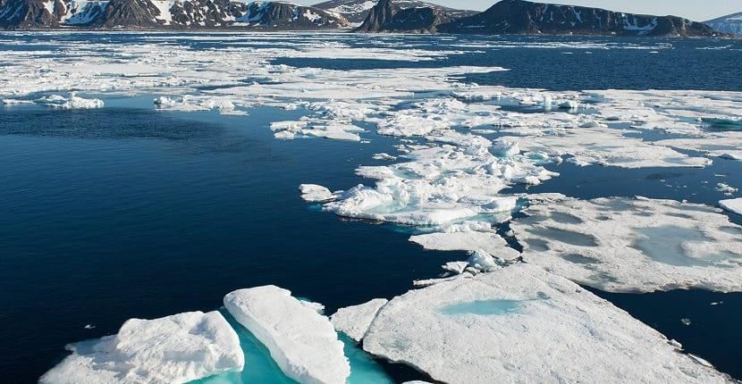 mar de barents congelado