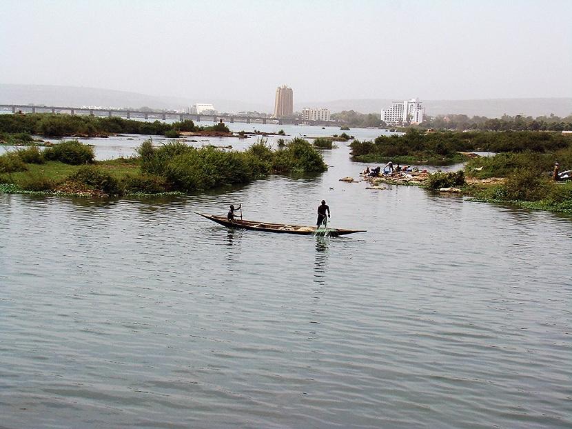 Navegando el río Níger