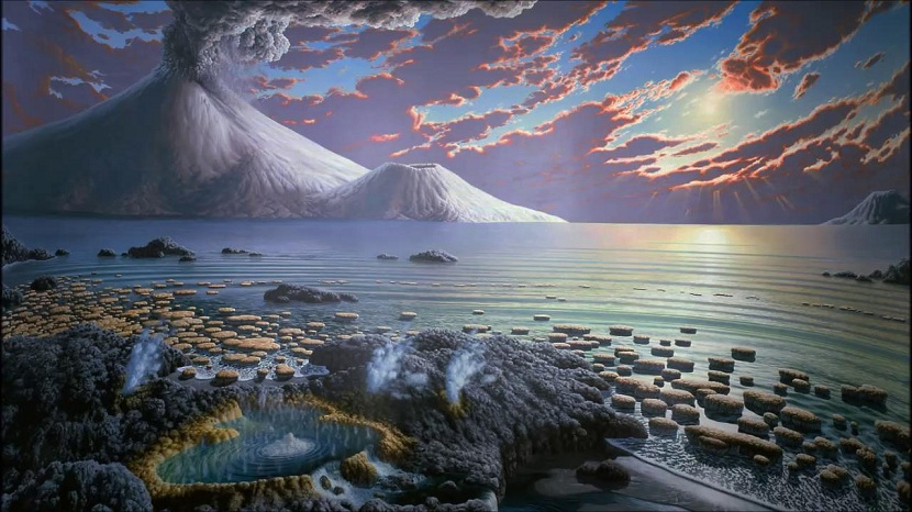 Origen el planeta Tierra