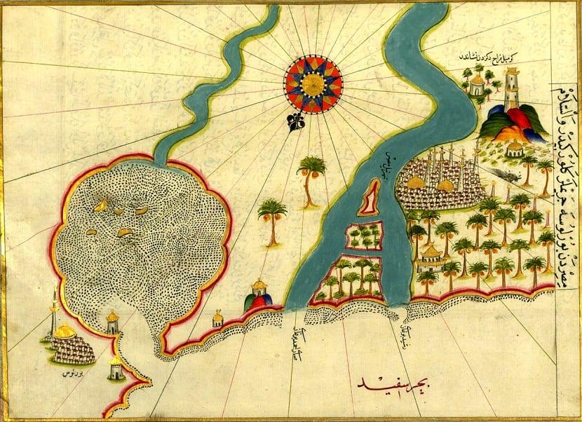 Tipos de mapa portulano