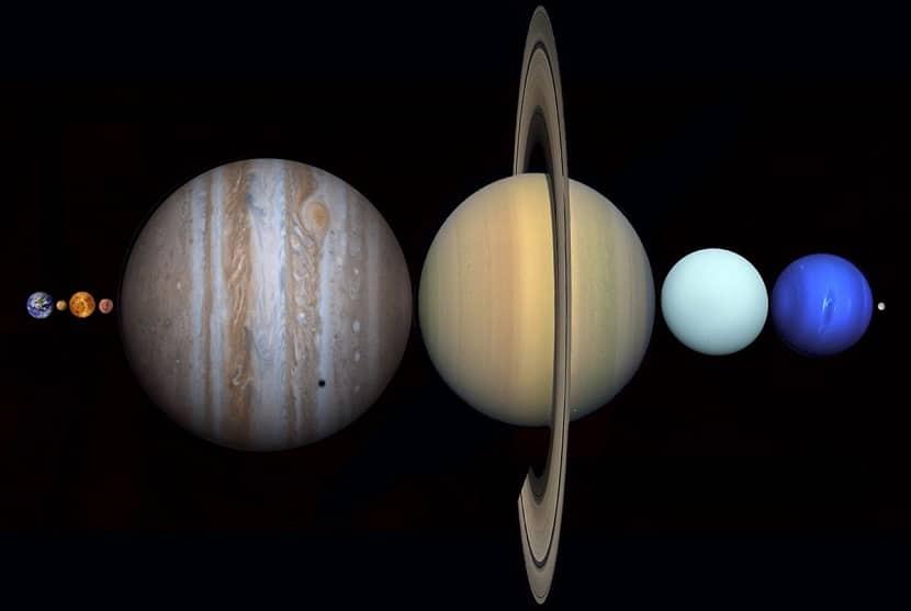 Todos los planetas