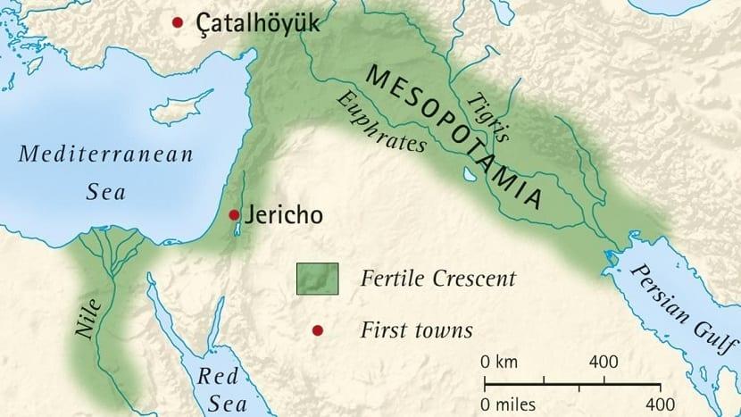Unión con el río Éufrates