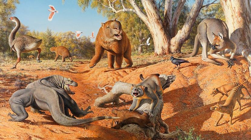 Animales del pleistoceno