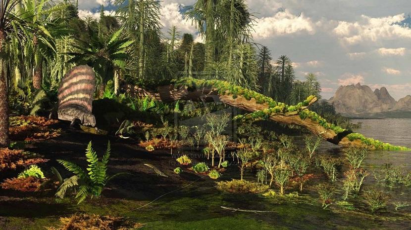 Ecosistemas del Pérmico