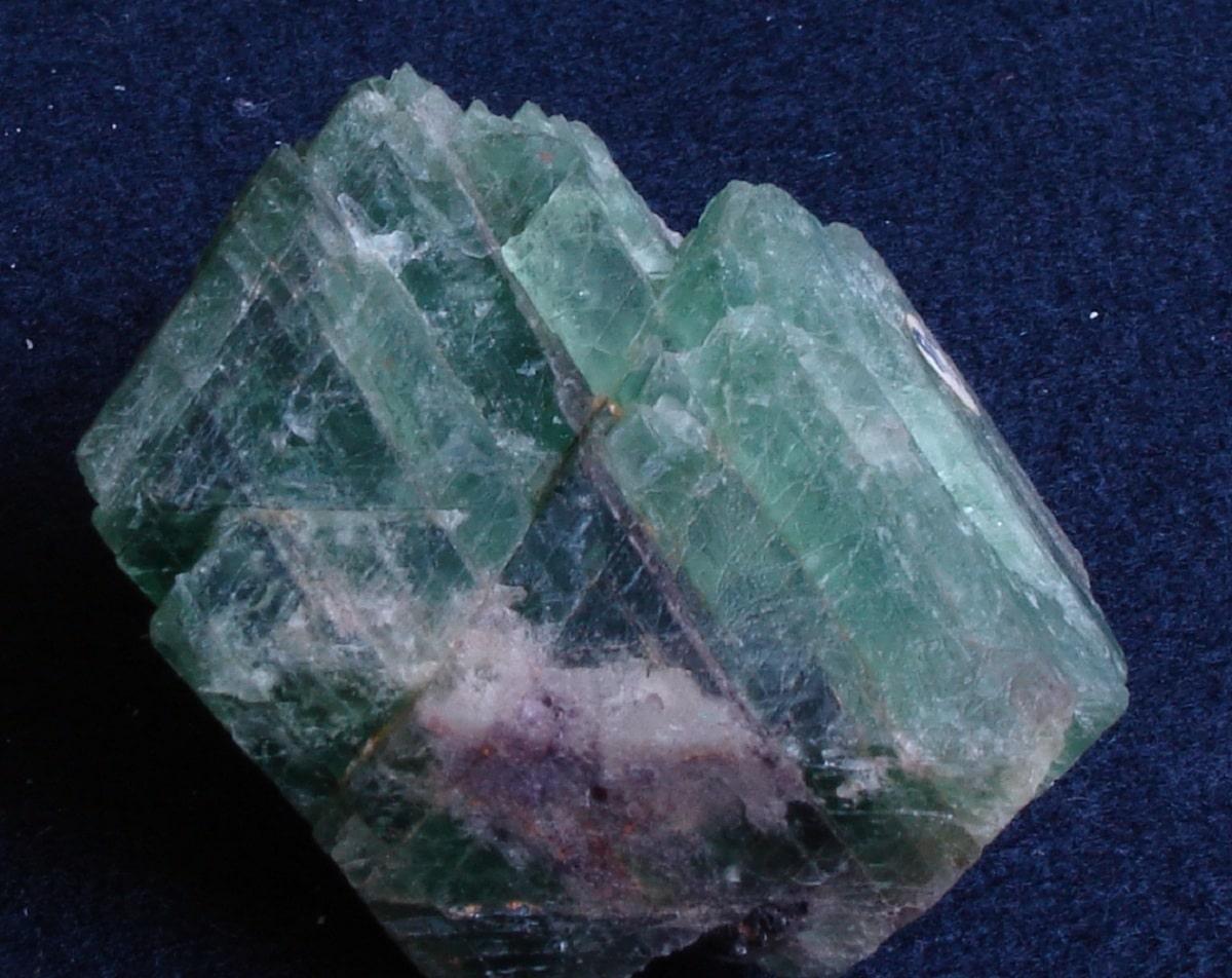 Formación de minerales