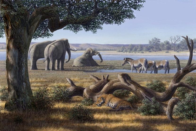 Pleistoceno y animales