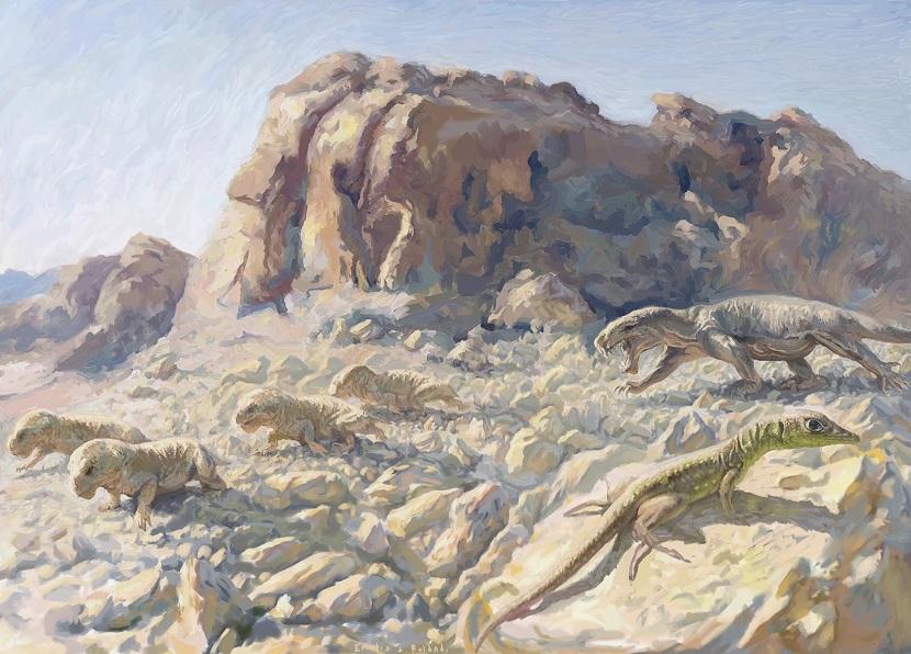 Reptiles del tiempo geológico