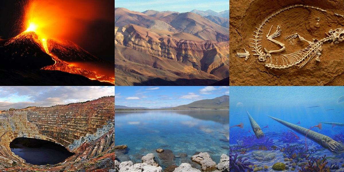 Características de la geología histórica