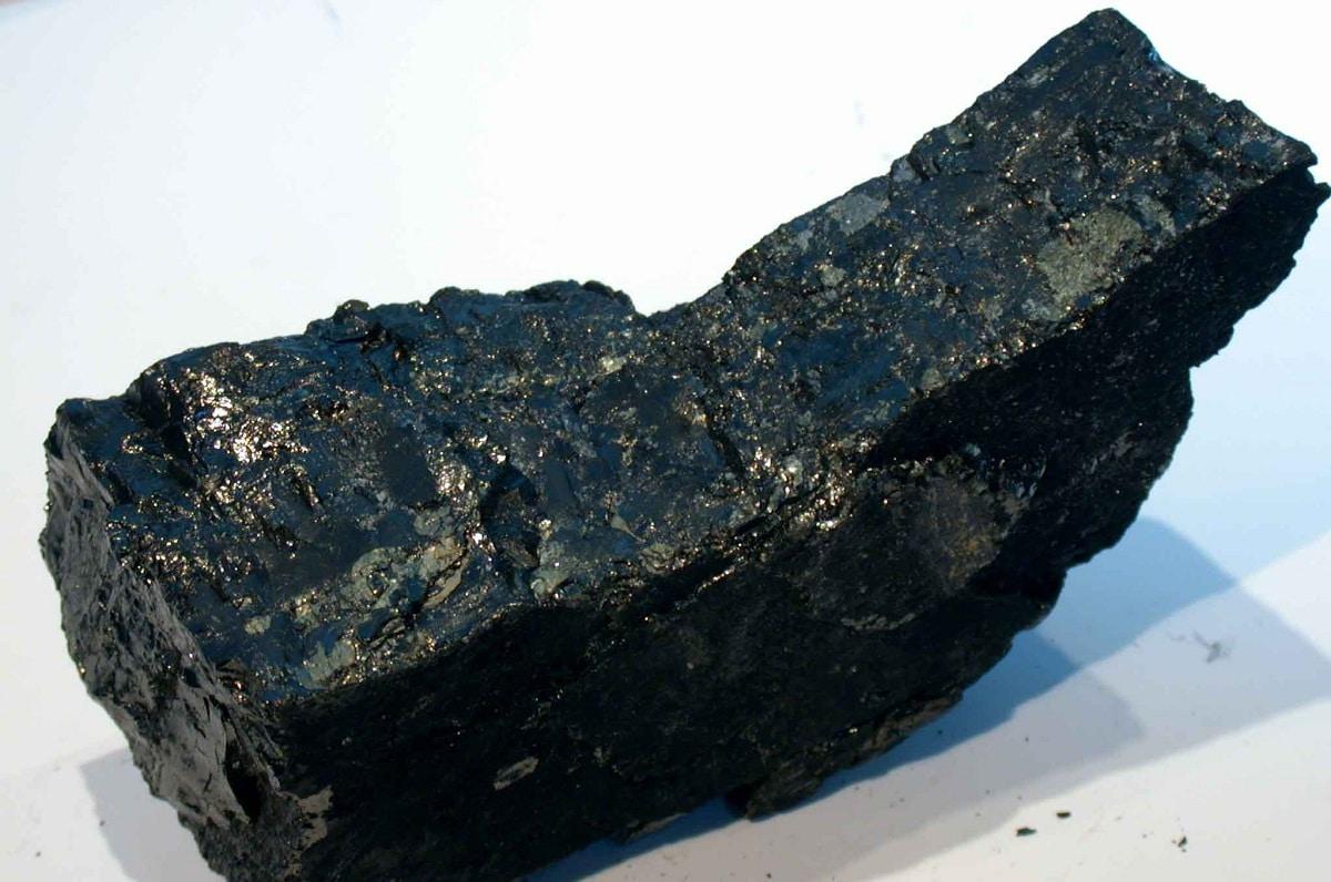 Carbono en las rocas y minerales