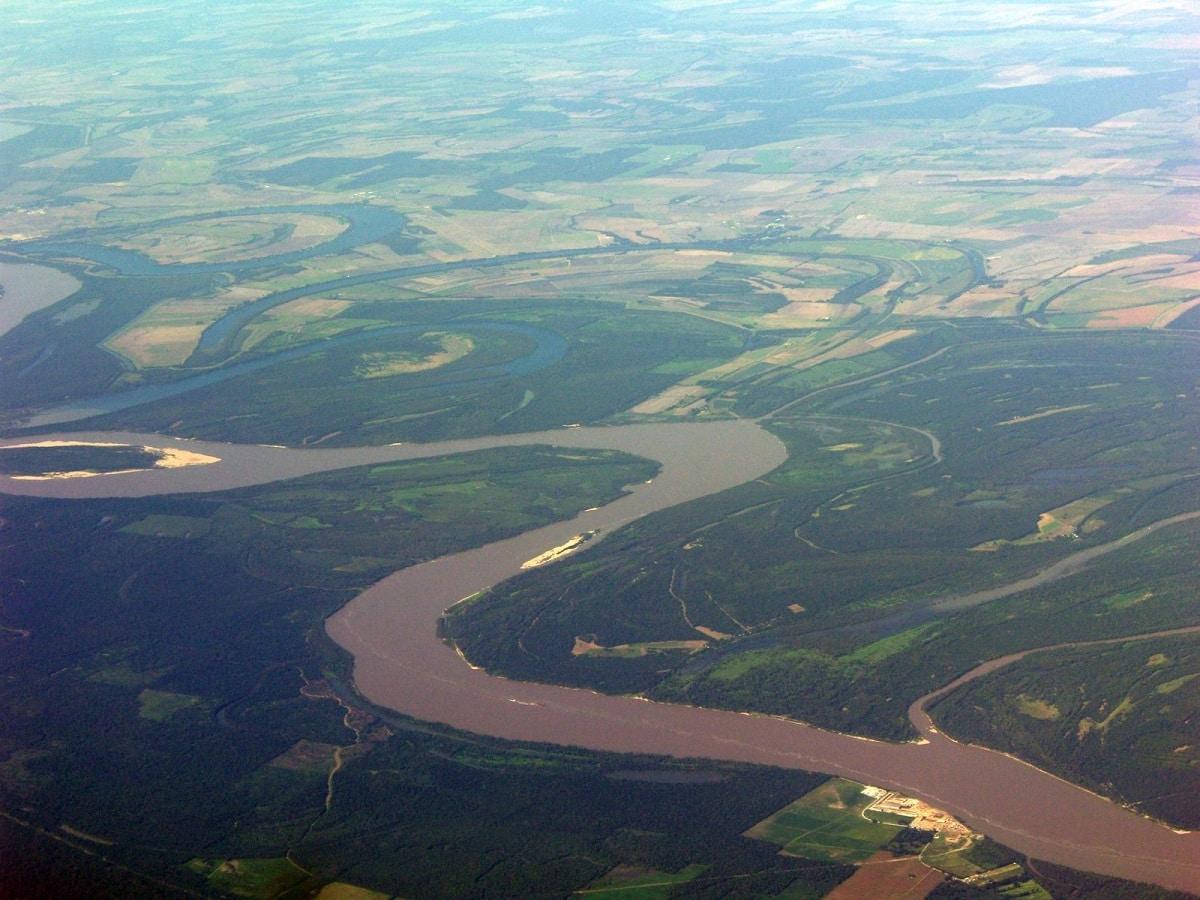 Afluentes del río Misisipi