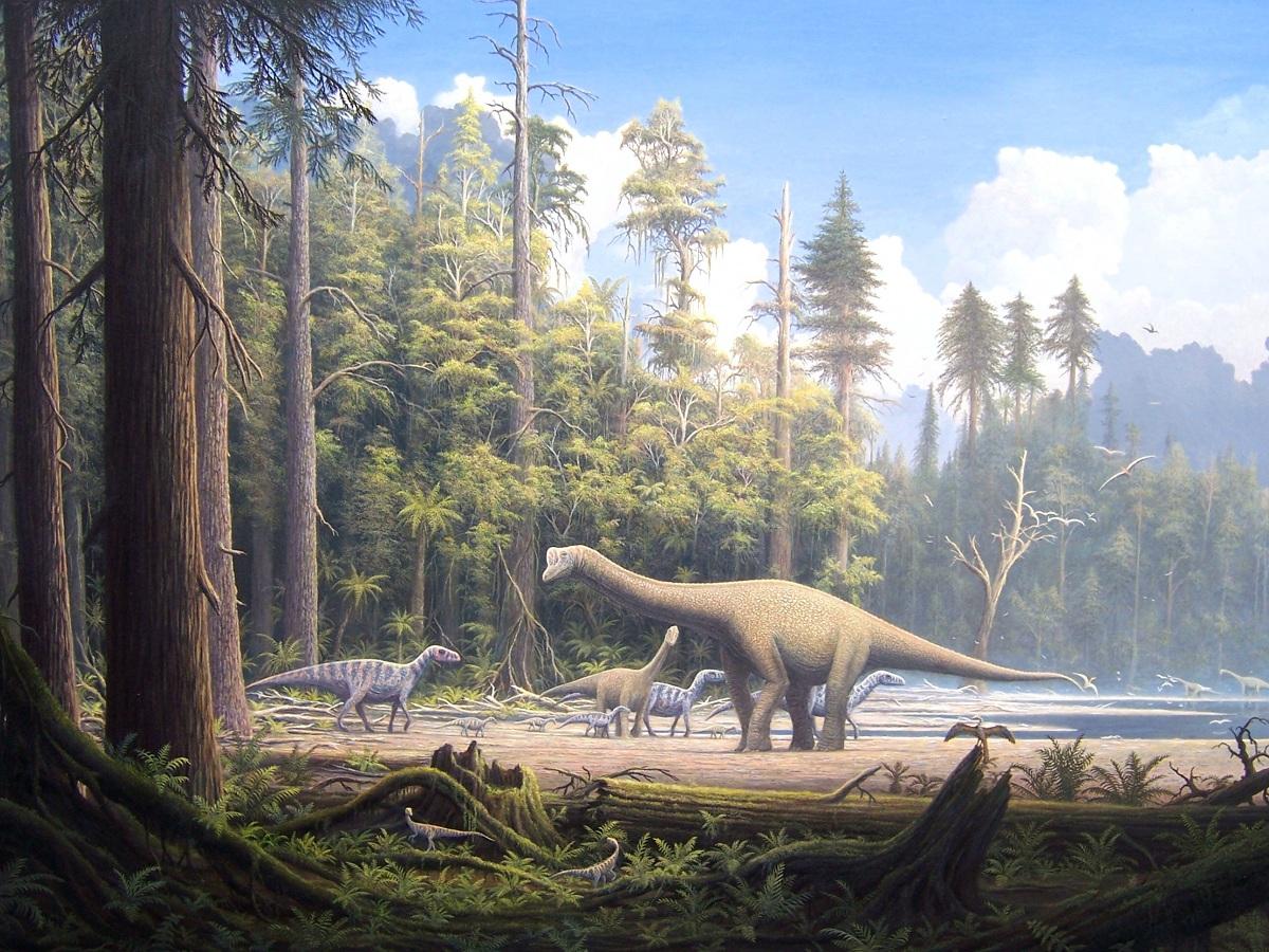 Fauna del Jurásico terrestre