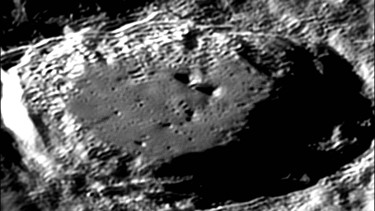 Formación de cráteres en la Luna