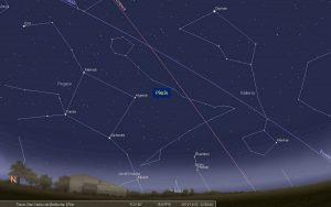 Cómo reconocer la constelación de Piscis