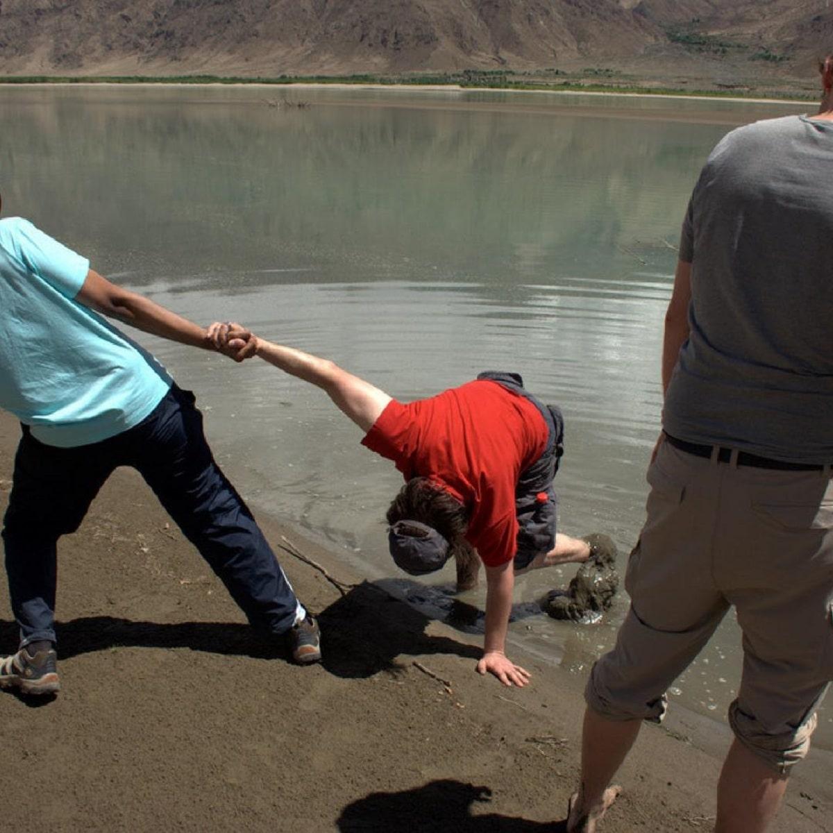 Arenas movedizas lago
