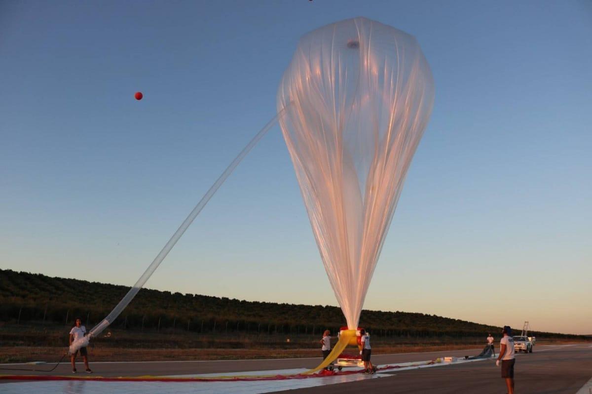 ormación del globo sonda