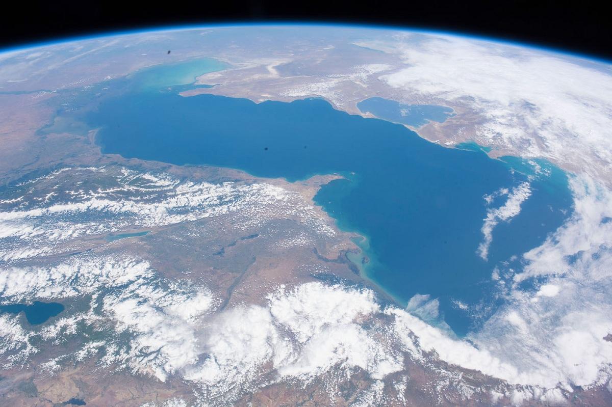 Formación del mar Caspio