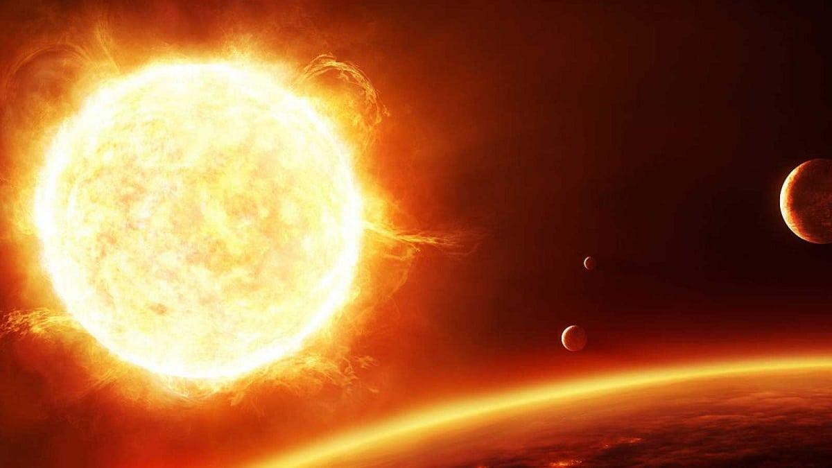 características de tormenta solar