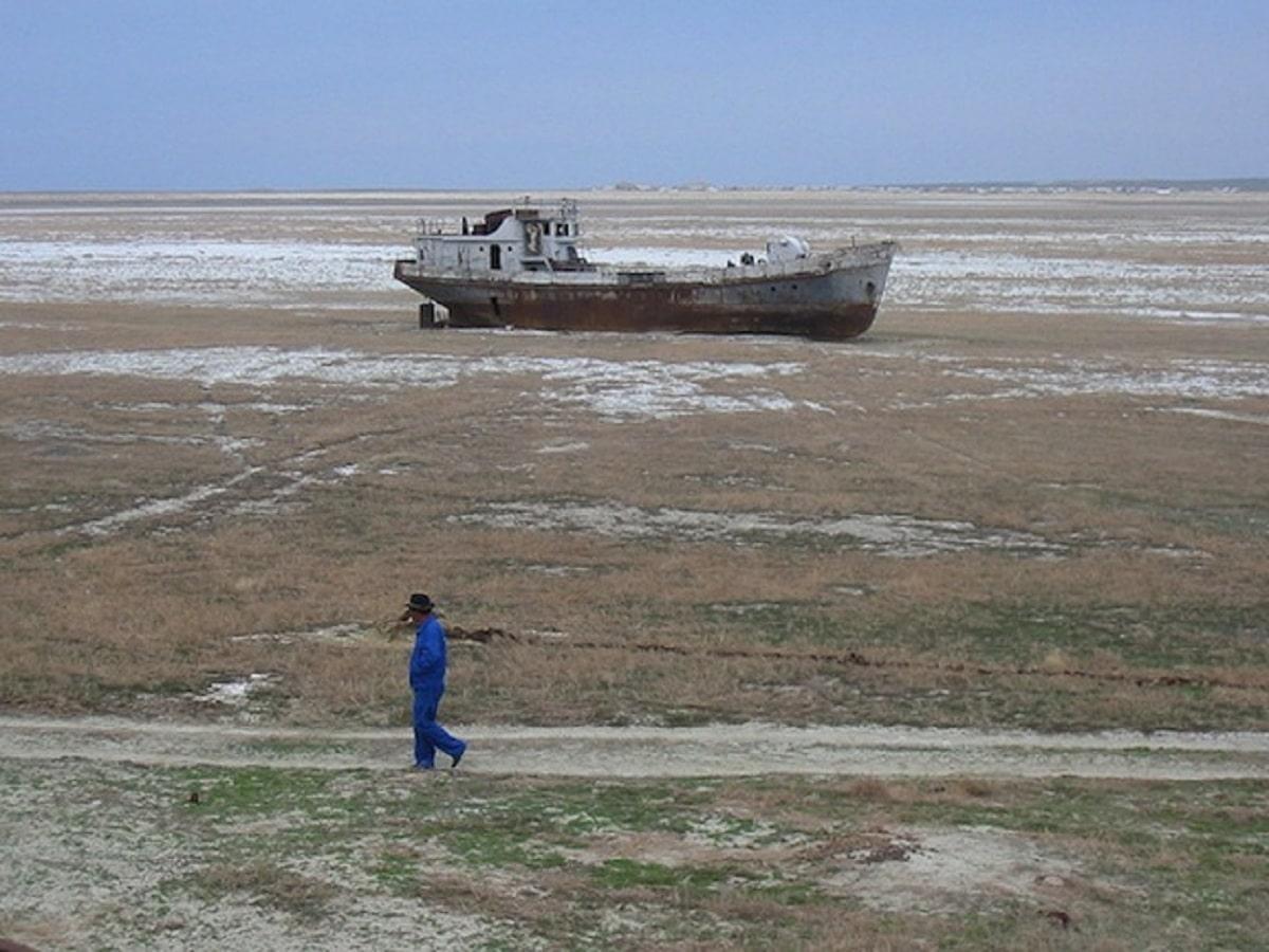 mar de aral seco