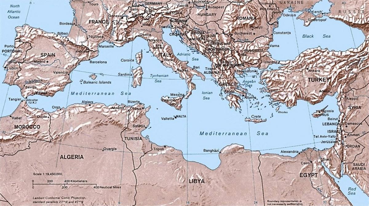Cuenca del mar Mediterráneo