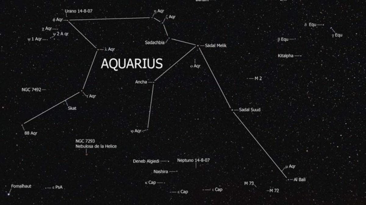 Constelacion de acuario