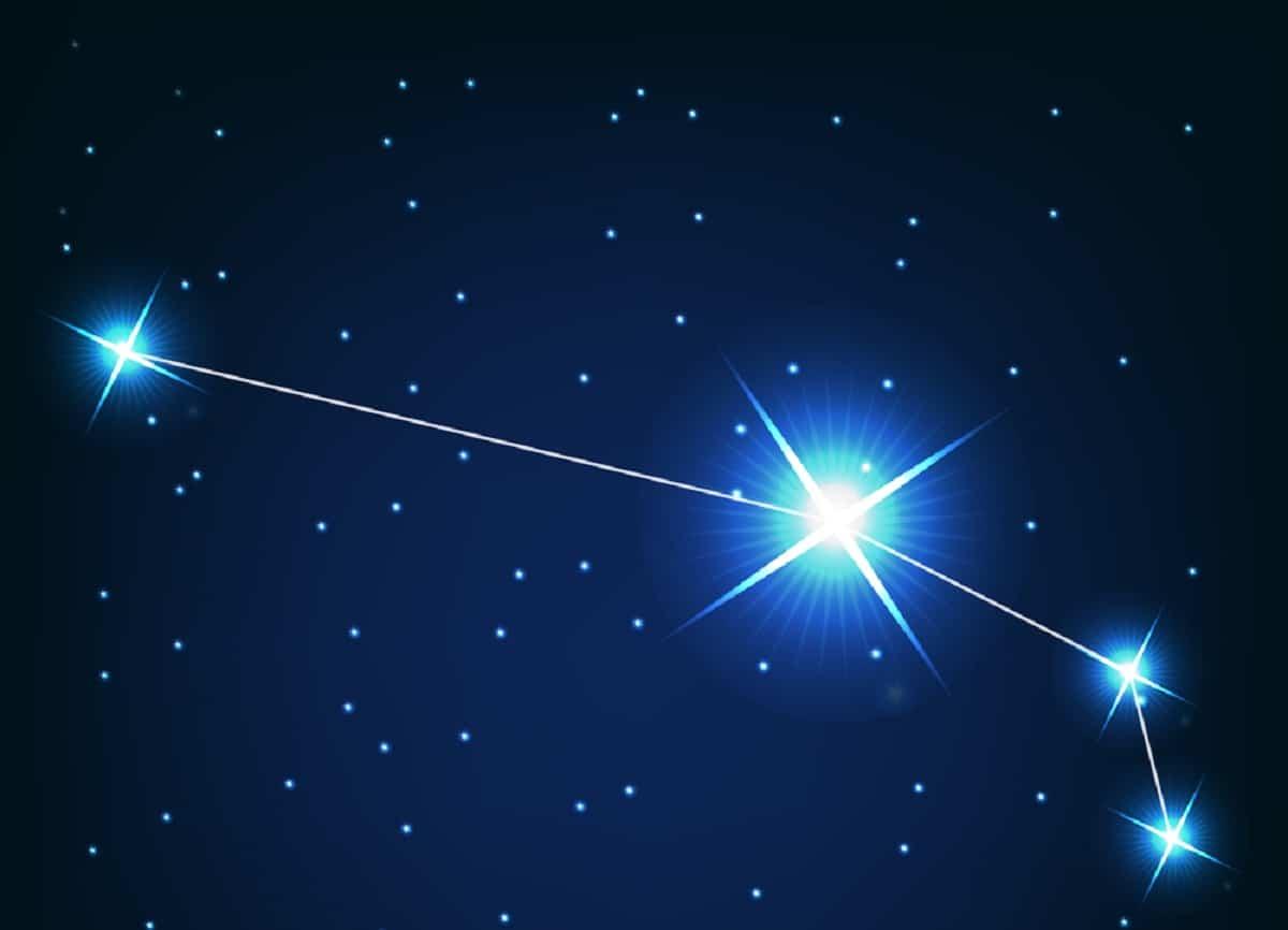 constelacion de Aries en el cielo