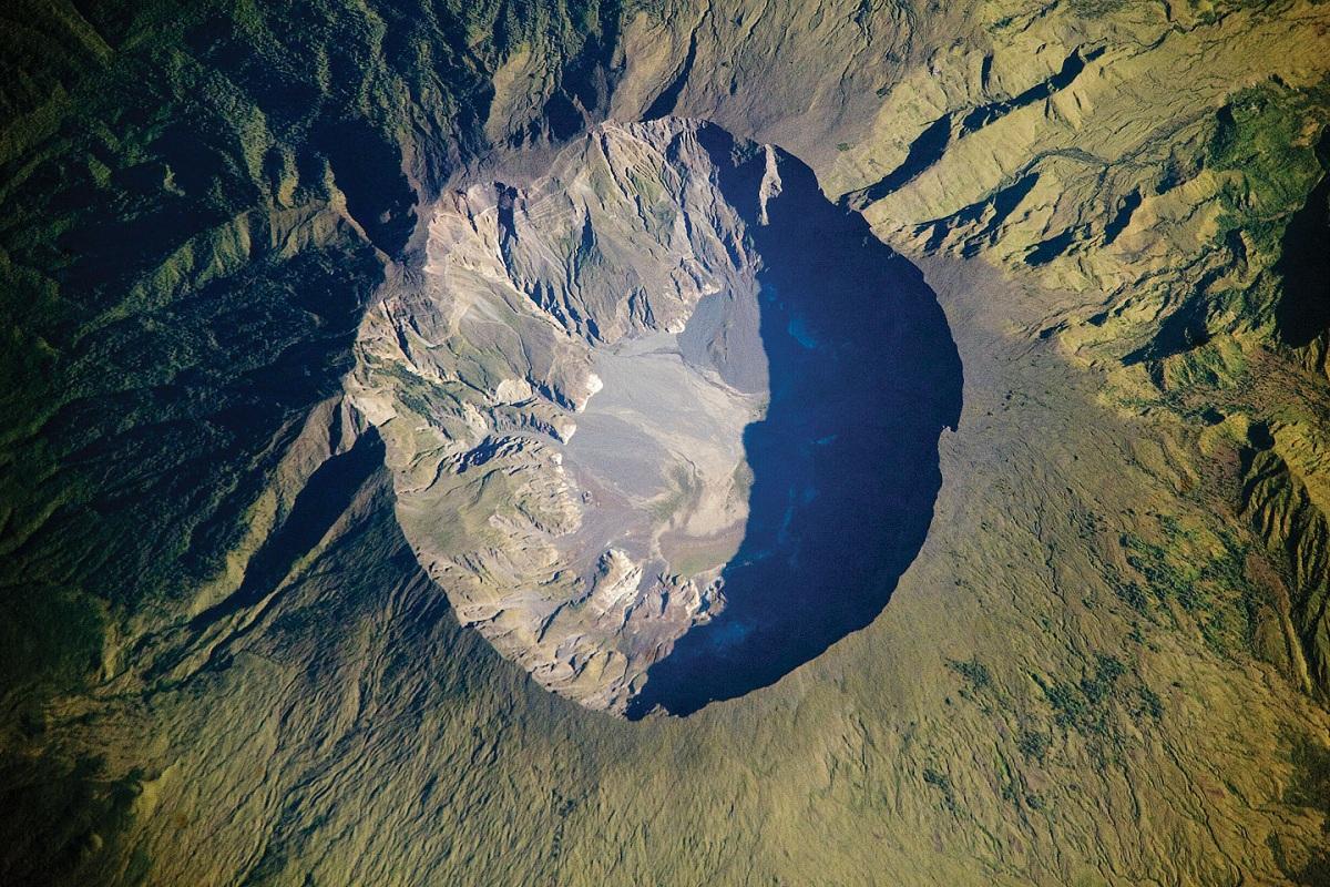 cumbre del volcan