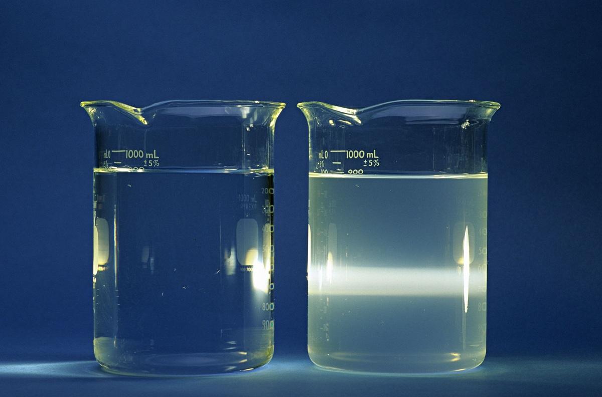 efecto Tyndall en quimica