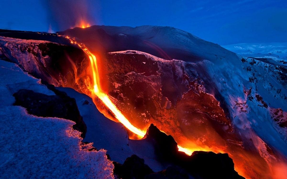 erupciones del Mauna Loa