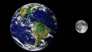 satelites naturales la luna
