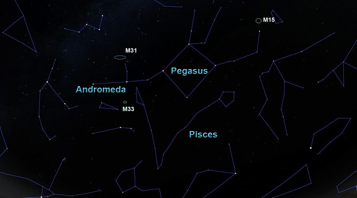conjunto de constelaciones