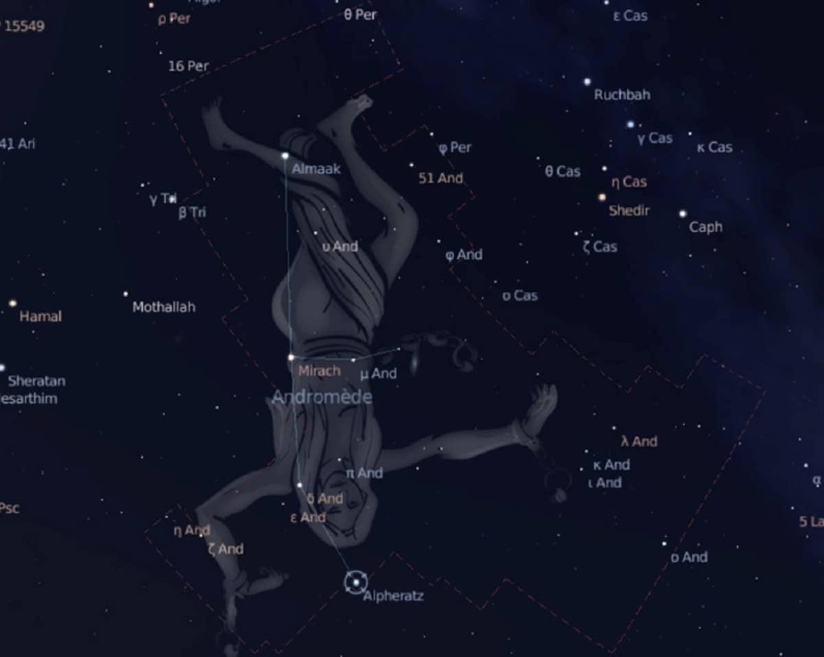 constelacion andromeda