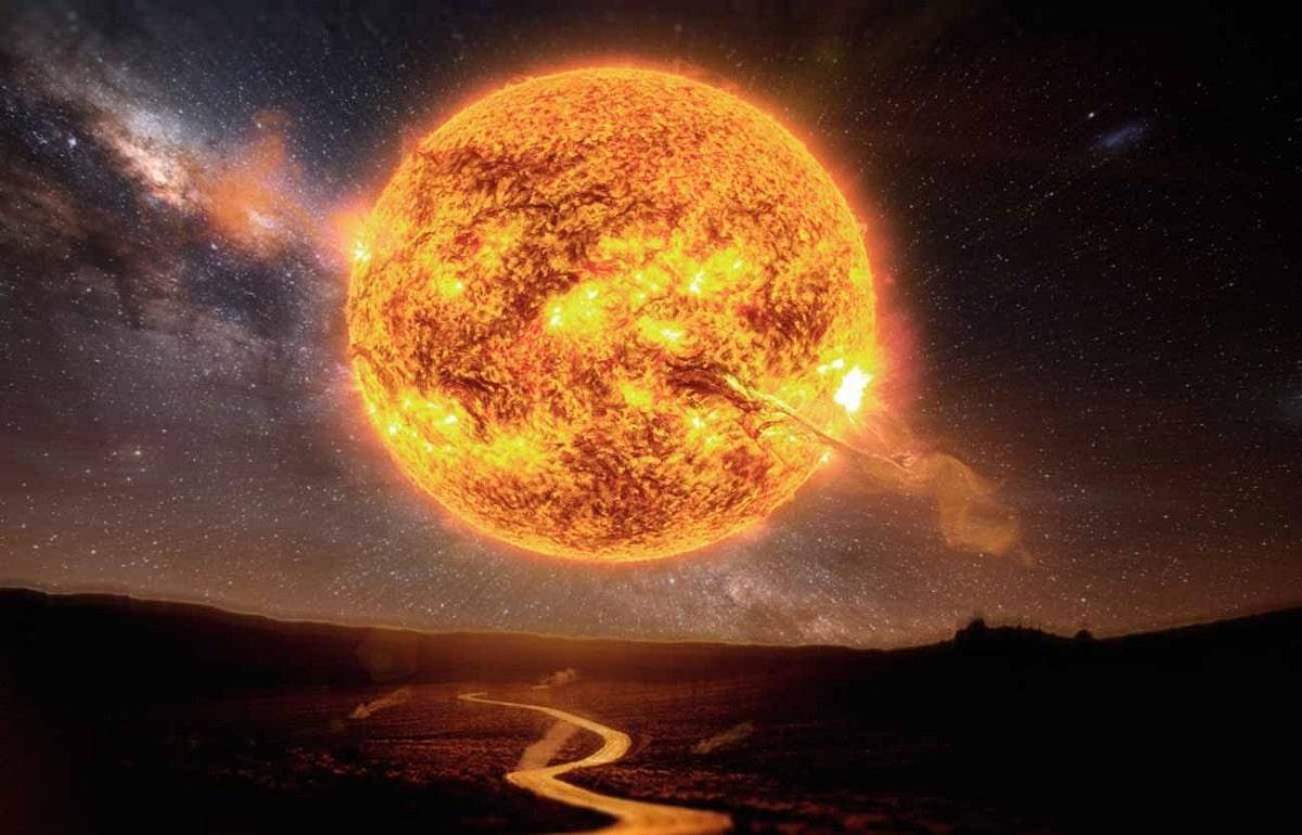 sol y estrellas