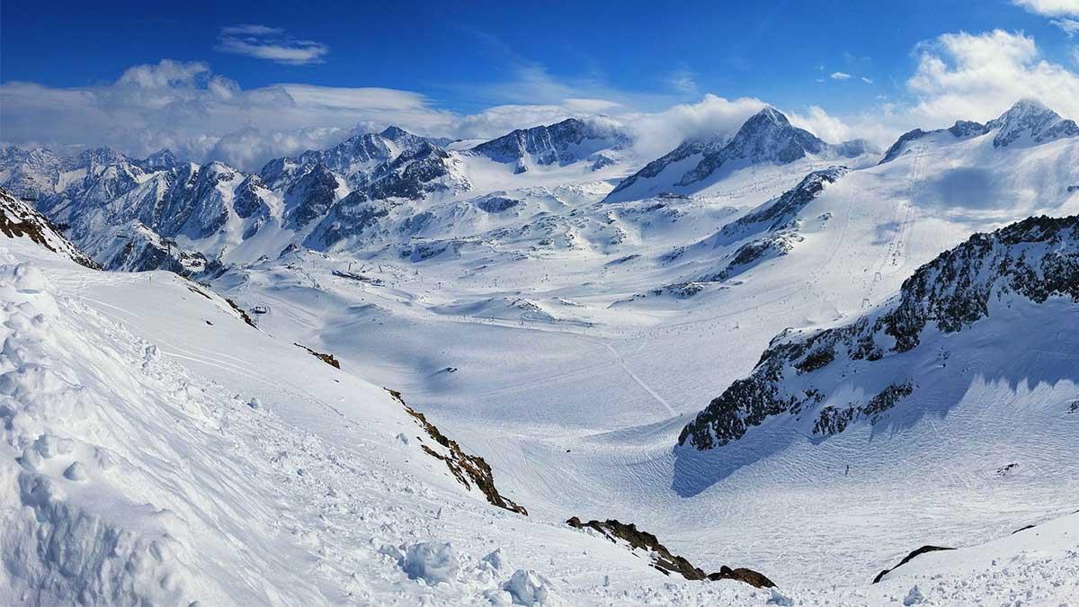 tipos de glaciares