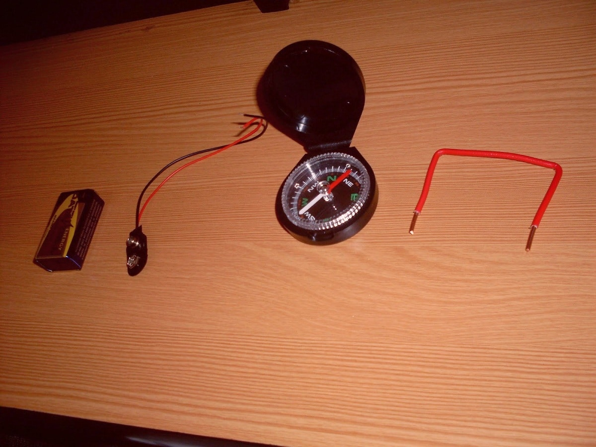 experimento de Oersted y magnetismo