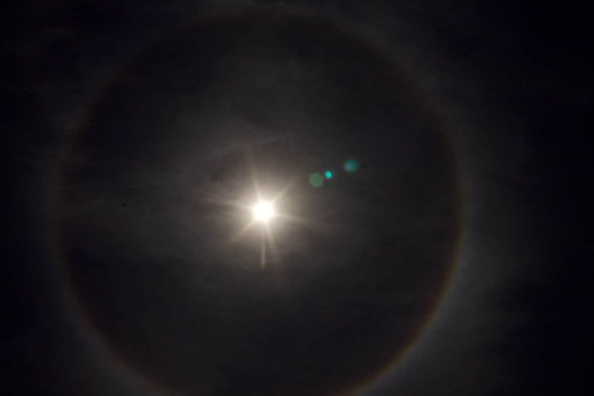 halo solar y mitologia