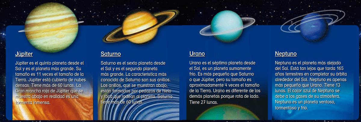 planetas con anillos
