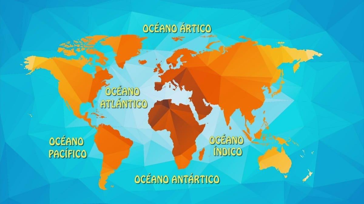 oceanos del mundo