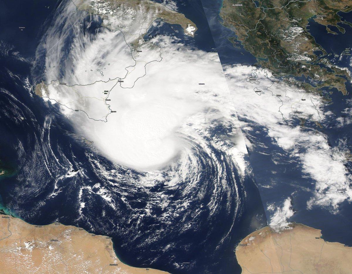 tormenta tropical mediterraneo