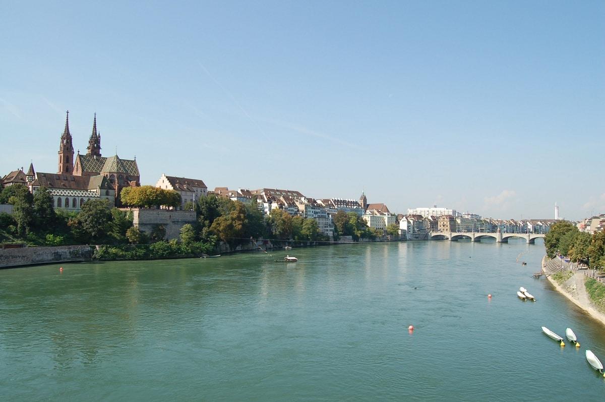 vistas del rio rin